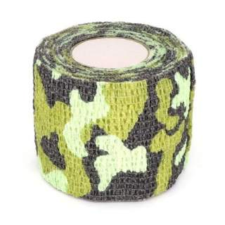 Self-adhesive Camouflage Wrap Camo Stealth Tape - Green