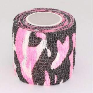 Self-adhesive Camouflage Wrap Camo Stealth Tape - Pink