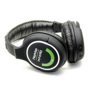 Nokta Makro 2.4gHz Green Headphones