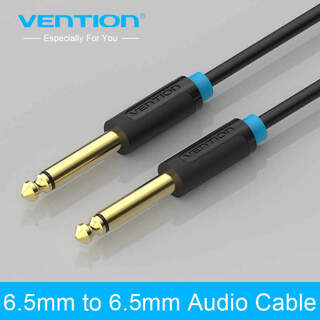 Cable 6.5 mm Jack to 6.5 mm Jack