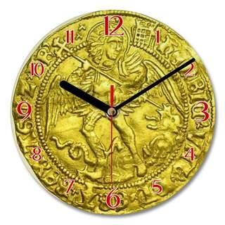 Wall Clock - Half Angel
