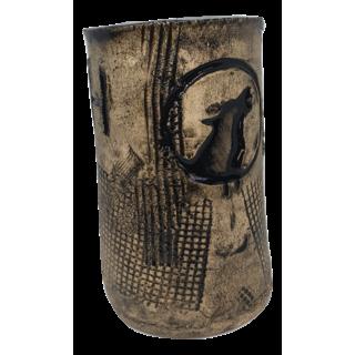 Handmade  Cup Viking Symbols