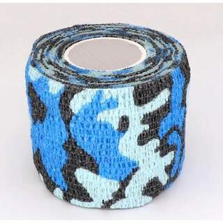 Self-adhesive Camouflage Wrap Camo Stealth Tape - Blue