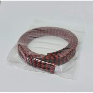 Metal Detector Cable Skin - Red - Black