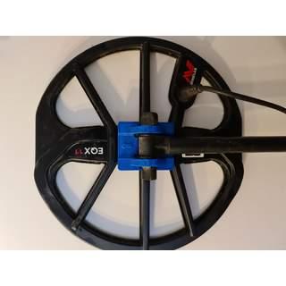 Minelab Equinox 800 - 600 - 11' or 15'' Coil Yoke Stiffener and Repair Blue