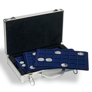 Aluminium Coin Case With Assorted Trays